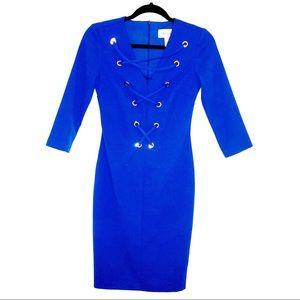 Cobalt Blue Power Dress